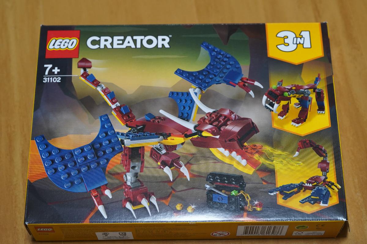 LEGO 31102 組み換えビルド